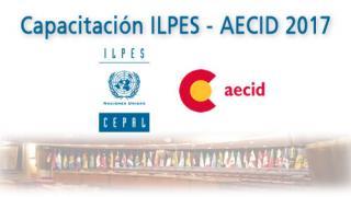 Capacitación ILPES-AECID 2017