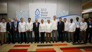 Participants at the XVI World Water Congress
