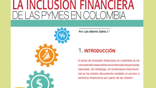 Inclusion financiera PyMEs Colombia