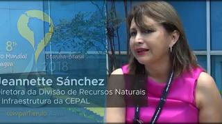 Jeannette Sánchez, Directora División de Recursos Naturales e Infraestructura