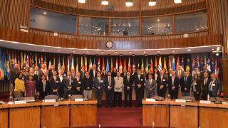 Santiago seminar group photo