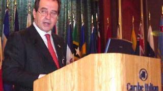 José Luis Machinea, Secretario Ejecutivo de la CEPAL, inauguró hoy el Trigésimo período de sesiones de esta comisión regional de la ONU.
