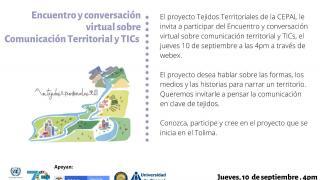 Encuentro y conversación virtual sobre Comunicación Territorial y TICs