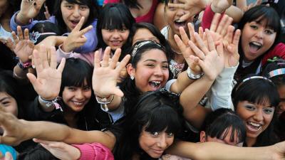 Imagen de niños felices