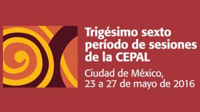 Banner trigésimo sexto período de sesiones de la CEPAL