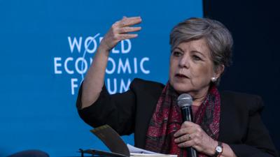 Alicia Bárcena, ECLAC's Executive Secretary.