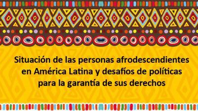 Afrodescendientes en América Latina