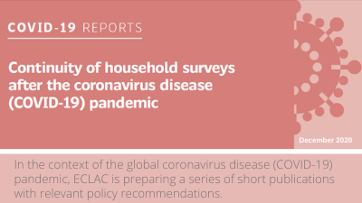 Continuity of household surveys after the coronavirus disease (COVID-19) pandemic