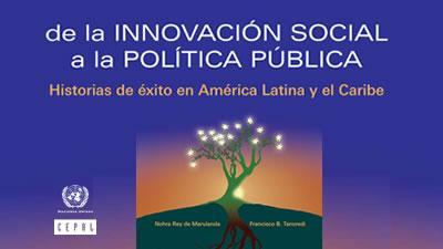 De la innovación social a la política pública