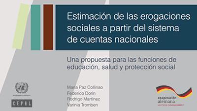 Estimación de las erogaciones sociales a partir del sistema de cuentas nacionales