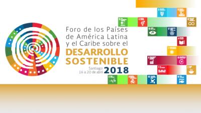 Banner segunda reunión Foro de los Países ALC sobre el Desarrollo Sostenible