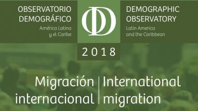 observatorio demografico 2018 - migracion internacional