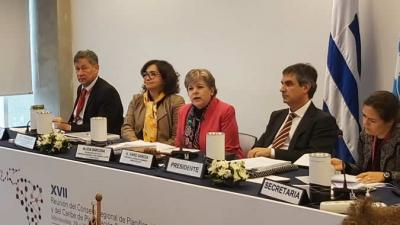 Panel de clausura de la XVII Reunión del Consejo Regional de Planificación.