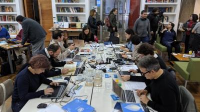 Editatón Wikipedia del edificio de la CEPAL Naciones Unidas
