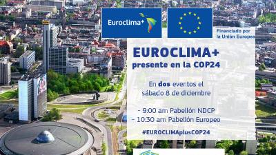 Eventos Euroclima y Cepal en la COP24