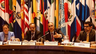 Closing session of the tenth meeting of the Statistical Conference of the Americas of ECLAC.