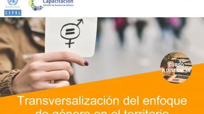 Transversalización del enfoque de género