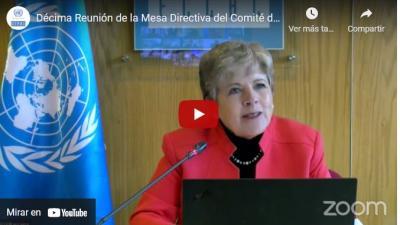 Video décima reunión cooperación sur sur