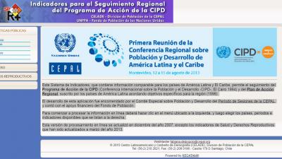 Indicadores para el seguimiento regional del programa de Acción de la CIPD