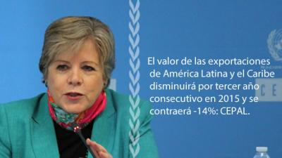 Fotografía con texto de Alicia Bárcena, Secretaria Ejecutiva de la CEPAL