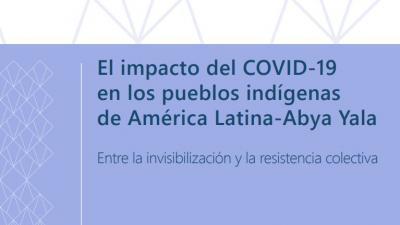 impacto COVID pueblos indígenas