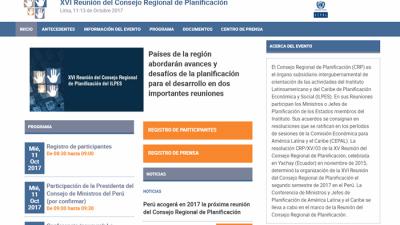 XVI Reunión del Consejo Regional de Planificación