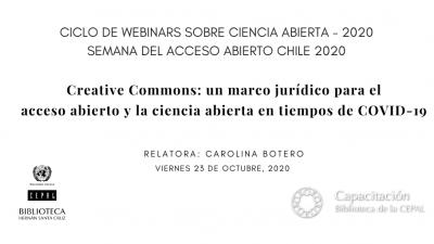 Webinar Creative Commons 23 octubre 2020