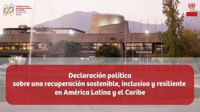 Banner de la declaración.