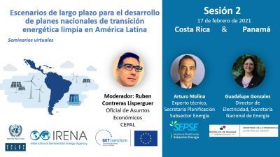 """Segundo y Tercer seminario """"Escenarios Energéticos de Largo Plazo (LTES)"""""""