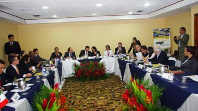 Reunión Mesoamericana de Ministros de Transporte