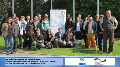 Reunión de Expertos en Estadísticas e Indicadores Ambientales de América Latina y el Caribe