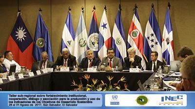 Taller sub-regional sobre fortalecimiento institucional, cooperación, diálogo y asociación para la producción y uso de los indicadores de los ODS