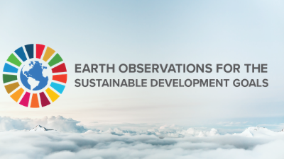 Banner Earth Observations for Sustainable Development Goals (EO4SDG)