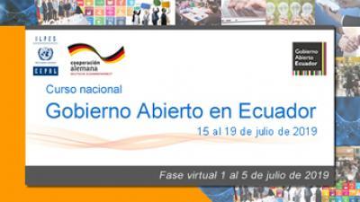 Curso Gobierno Abierto Ecuador