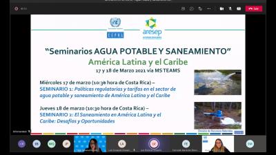 Seminario de agua potable y saneamiento