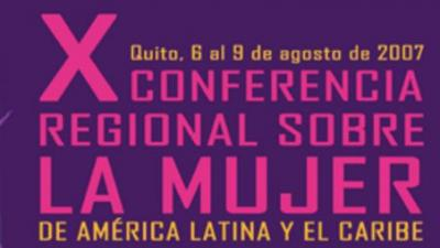 Décima Conferencia Regional sobre la Mujer de América Latina y el Caribe