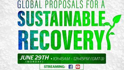 Global proposals for a sustainable recovery