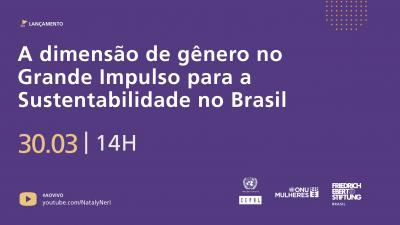 A Dimensão do Gênero no Grande Impulso para a Sustentabilidade no Brasil