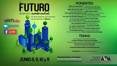 El Futuro del Derecho Ambiental, 50 años después de la primera ley ambiental en México