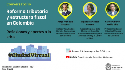 Conversatorio Reforma tributaria en Colombia