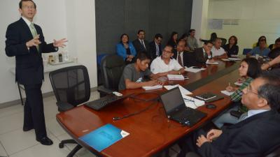 ponentes taller de transferencia de la metodologia