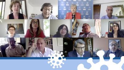 Reunión virtual extraordinaria de la Comunidad de Práctica de los países de América Latina que presentan su Informe Nacional Voluntario ante el Foro Político de Alto Nivel en 2020