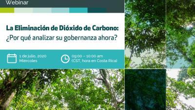 La Eliminación de Dióxido de Carbono (EDC): ¿por qué analizar su gobernanza ahora?