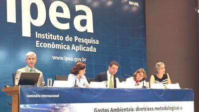Seminário Gastos Ambientais diretrizes metodológicas, avanços na América Latina
