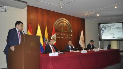 Presentación MIP Sudamericana en la Comunidad Andina