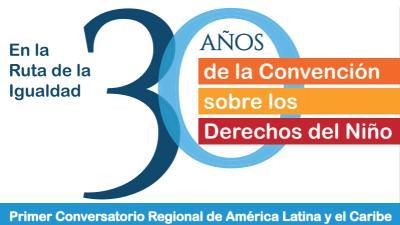 Logo 30 Años de la convención de los derechos del Niño