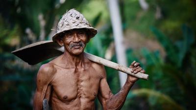 Aged worker