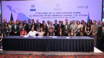 Segunda Reunión de Puntos Focales de los Países Signatarios de la Declaración sobre la aplicación del Principio 10