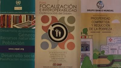 Seminario Focalización e Interoperabilidad: debate para la focalización integral Optimización del Sisbén