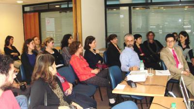 Seminario nacional en Uruguay calificación de la mano de obra